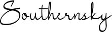 Southernsky Font