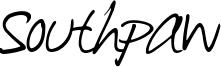 Southpaw Font