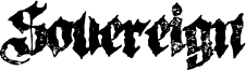 Sovereign Font