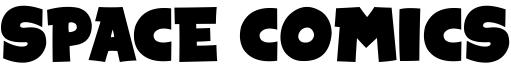 Space Comics Font
