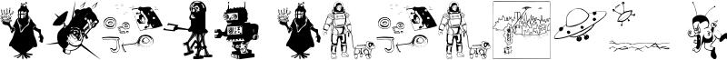 Space Station Hokuspokus Font