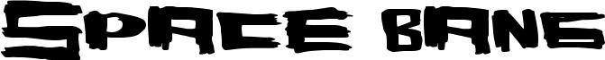 Space Bang Font