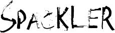 Spackler Font
