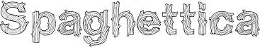 Spaghettica Font