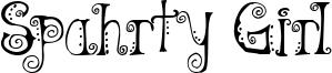 Spahrty Girl Font