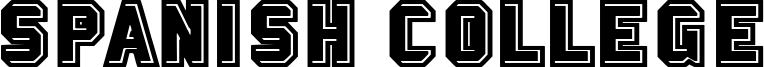 Spanish College Font