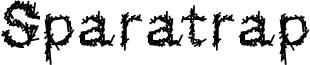 Sparatrap Font