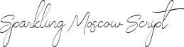 Sparkling Moscow Script Font
