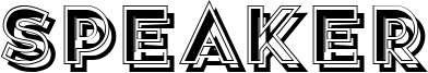 Speaker Font
