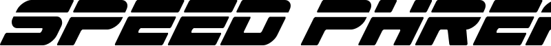 Speed Phreak Font