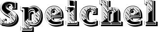 Speichel Font