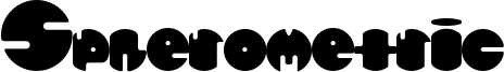 Spherometric Font