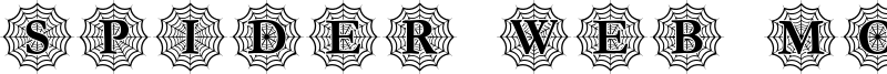 Spider Web Mono Font