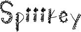 Spiiikey Font