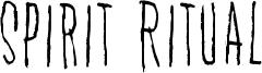 Spirit Ritual Font