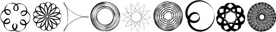 SpiroFace Font