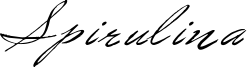 Spirulina Font