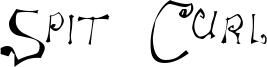 Spit Curl Font