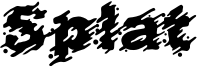 Splat Font