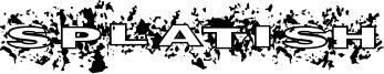 Splatish Font