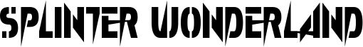 Splinter Wonderland Font