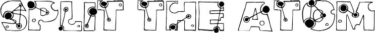 Split the Atom Font