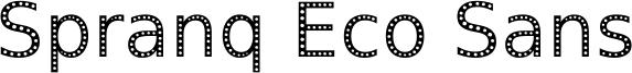 Spranq Eco Sans Font