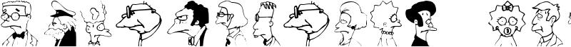 Springfield Mugshots Font