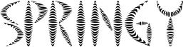 Springy Font
