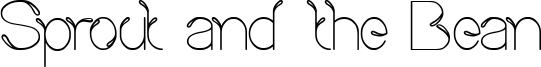 Sprout and the Bean Font