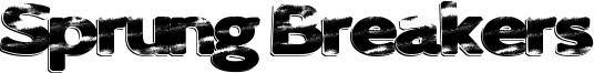 Sprung Breakers Font