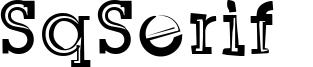 SqSerif  Font