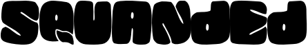 Squanded Font