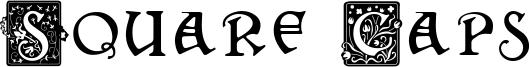 Square Caps Font