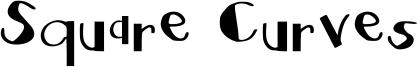 Square Curves Font