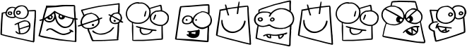 Squareheads Font