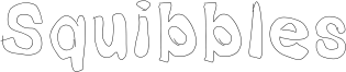 Squibbles Font
