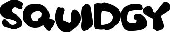 Squidgy Font