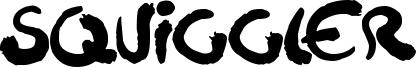 Squiggler Font