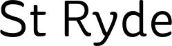 St Ryde Font