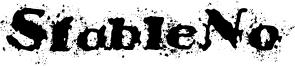 StableNo Font