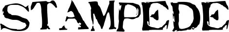 Stampede Font
