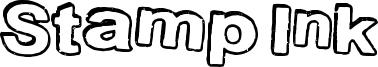 Stamp Ink Font