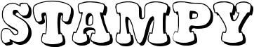 Stampy Font