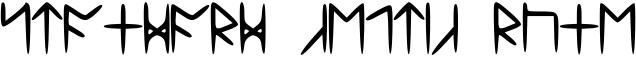Standard Celtic Rune Font