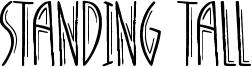 Standing Tall Font