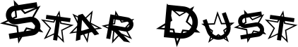 Star Dust Font