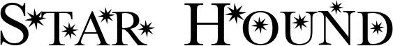 Star Hound Font