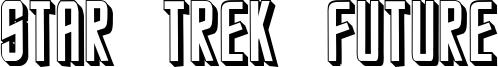 Star Trek Future Font