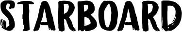 Starboard Font